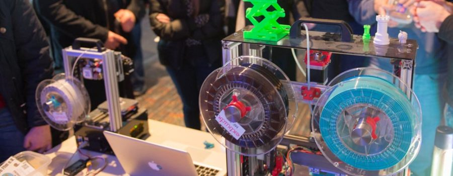 3D Drucker TINY auf der Make Rhein-Main