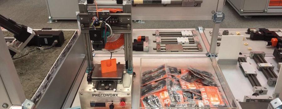 TINY 3D Drucker auf der Hannover Messe