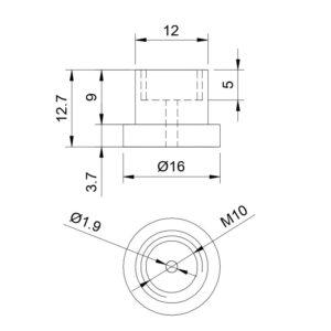 e3d Groovemount Zeichnung