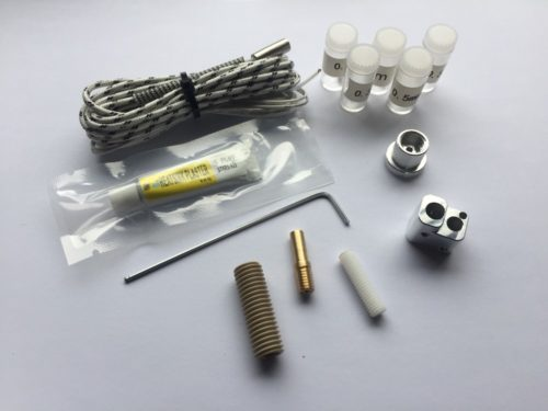 Merlin Hotend Set 1.75mm V3 vertikal