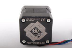 Jetzt im Shop: Protoworx NEMA 17 Schrittmotor
